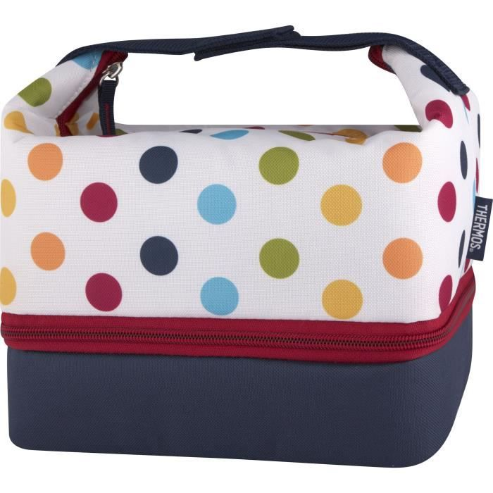 thermos sac isotherme avec bento dots and stripes achat vente sac isotherme cdiscount. Black Bedroom Furniture Sets. Home Design Ideas