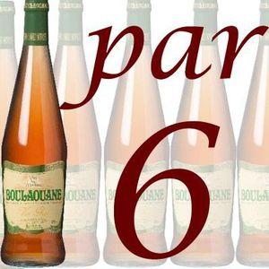 VIN ROSÉ Boulaouane Gris Maroc rosé 75cl x 6