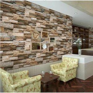 papier peint pierre achat vente papier peint pierre pas cher les soldes sur cdiscount. Black Bedroom Furniture Sets. Home Design Ideas
