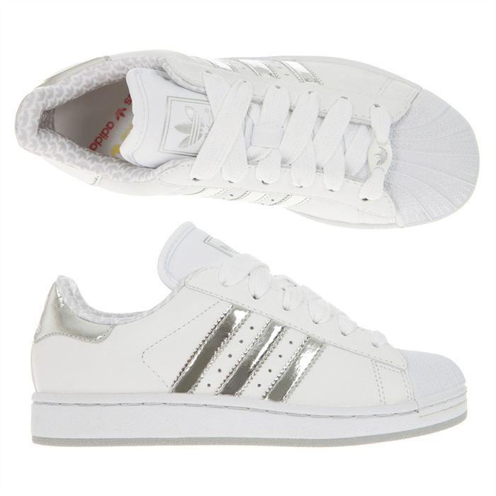 chaussures de sport be66a 2bc22 adidas superstar bande grise