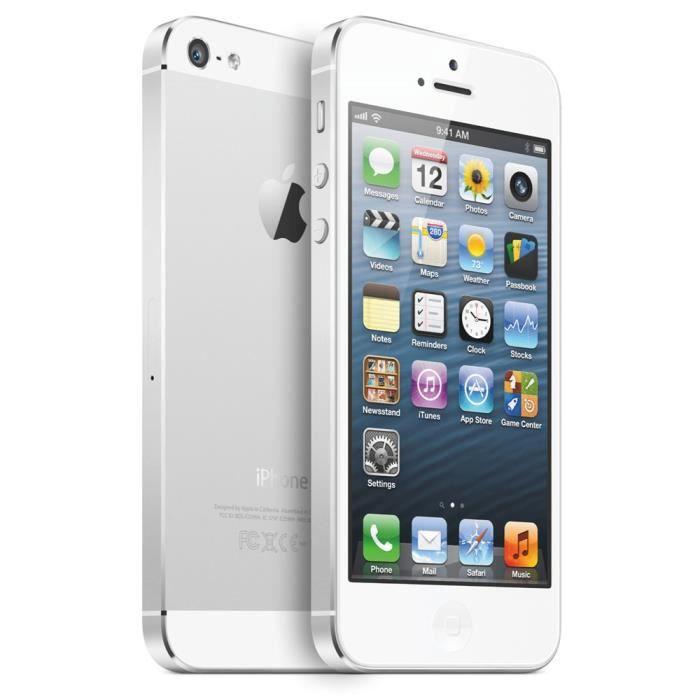 iphone 5s 16go blanc debloq achat smartphone pas cher. Black Bedroom Furniture Sets. Home Design Ideas
