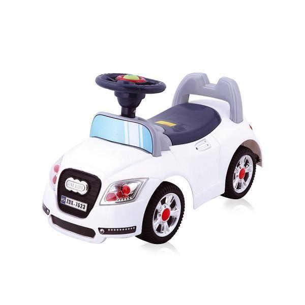 voiture porteur adi pour enfant blanche achat vente porteur pousseur cdiscount. Black Bedroom Furniture Sets. Home Design Ideas
