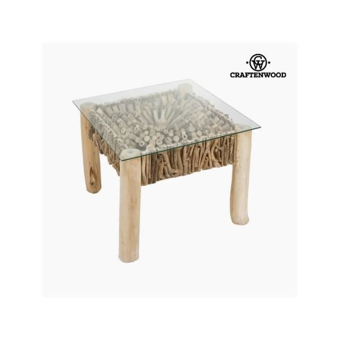 Table d appoint ronde d co by craftenwood achat - Table d appoint ronde ...