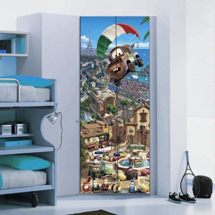 poster de porte coller. Black Bedroom Furniture Sets. Home Design Ideas