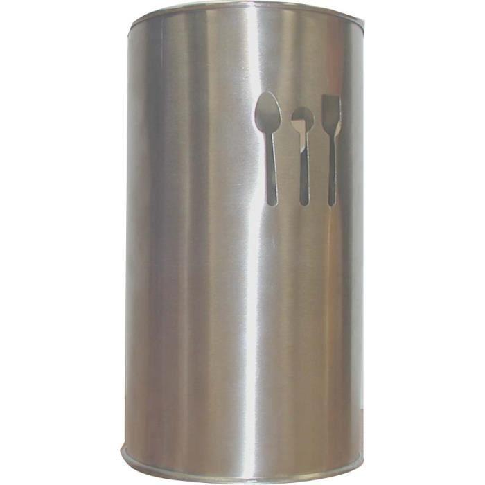 Pot a ustensiles inox achat vente repose ustensile pot for Cuisine ustensile