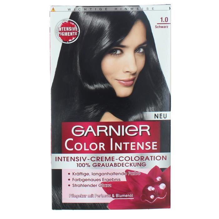 coloration crme coloration cheveux permanente garnier color - Dcolorer Cheveux Colors