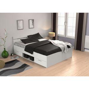 lit vague achat vente lit vague pas cher les soldes sur cdiscount cdiscount. Black Bedroom Furniture Sets. Home Design Ideas