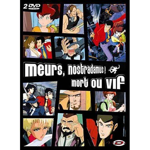 Mort Ou Vif: DVD Rupan : Meurs Nostradamus ; Mort Ou Vif En DVD DESSIN