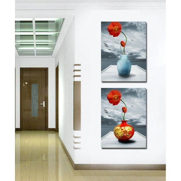 Tableau moderne imprim sur toile multi panneaux d co for Tableau imprime sur verre