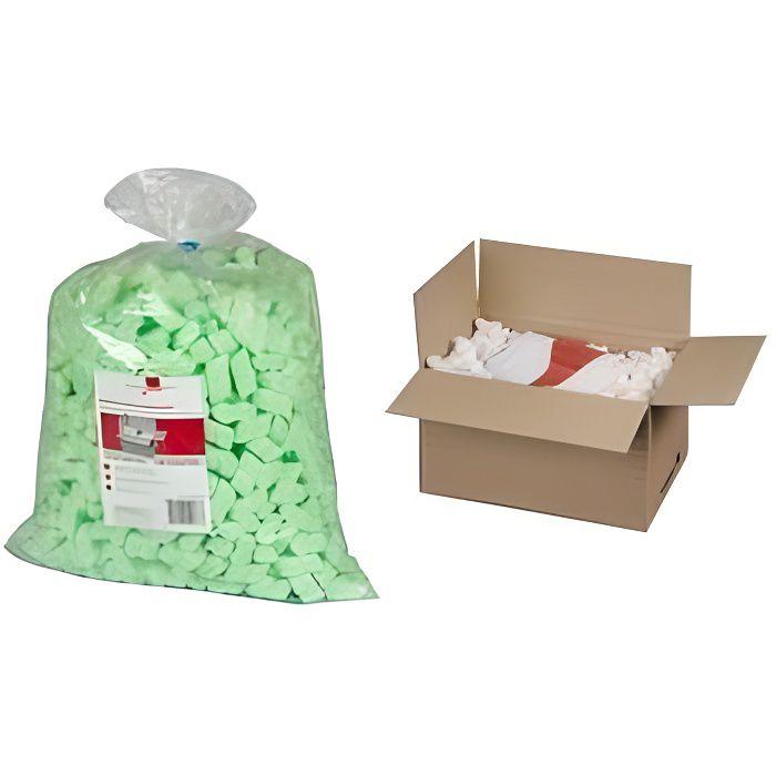 sac 15l billes vertes particules de calage pour co achat vente note adh sive sac 15l billes. Black Bedroom Furniture Sets. Home Design Ideas