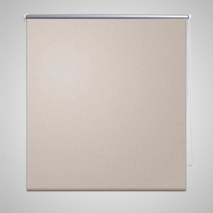 Store enrouleur occultant 80 x 175 cm beige achat for Store enrouleur occultant fenetre pvc