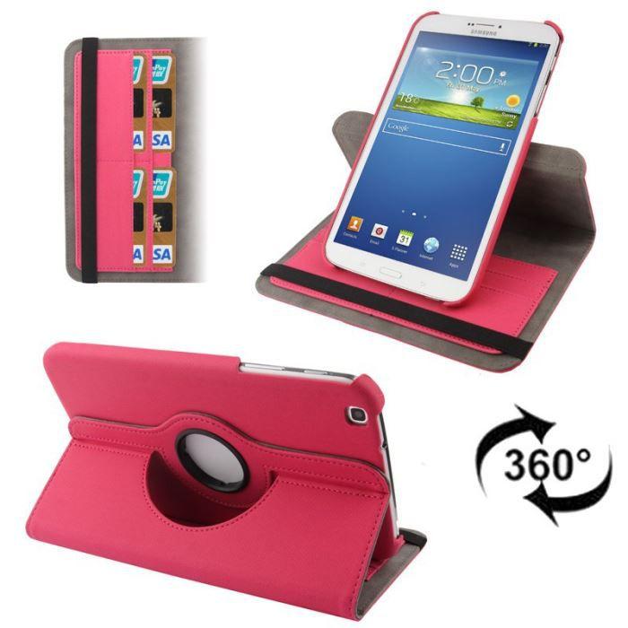 COQUE - HOUSSE Housse Samsung Galaxy Tab 3 GT T3100 étui 8 pou…