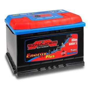Batterie decharge lente 80 ah voilier et bateau moteur - Batterie decharge lente comparer les prix ...