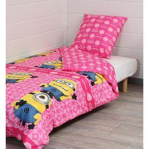 Parure de lit enfant fille achat vente parure de lit for Parure de lit pas chere