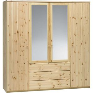 Armoire bois massif achat vente armoire bois massif for Armoire pin massif porte coulissante