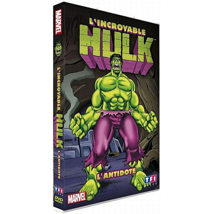 DVD L'incroyable Hulk, Vol. 7 : L'antidote en dvd dessin animé pas