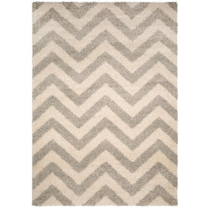benuta tapis graphic zick zack gris 80x150 cm achat vente tapis cdiscount. Black Bedroom Furniture Sets. Home Design Ideas