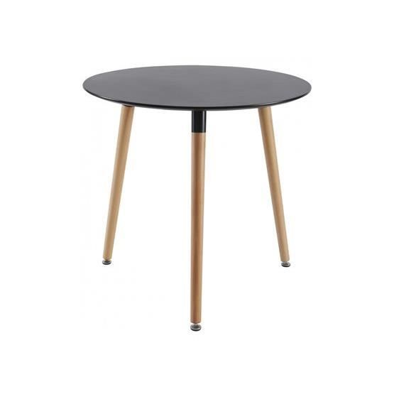 Table manger reor noir achat vente table a manger for Table a manger noir