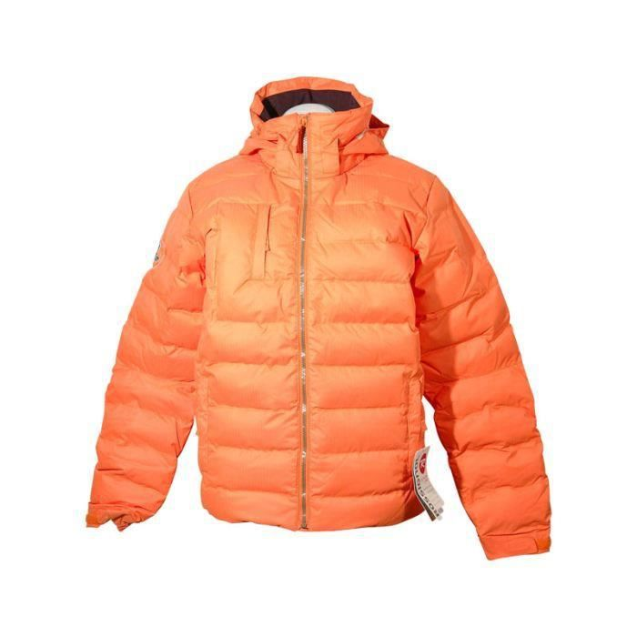 parka junior rossignol boypolydownjkt naranja orange achat vente blouson manteau parka. Black Bedroom Furniture Sets. Home Design Ideas