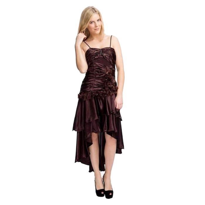 robe de soir e asym trique robe cocktail avec rivi re de strass et sequins noir achat vente. Black Bedroom Furniture Sets. Home Design Ideas