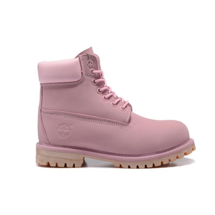 timberland rose chaussures timberland 6 inch premium boot rose zoom detail. Black Bedroom Furniture Sets. Home Design Ideas
