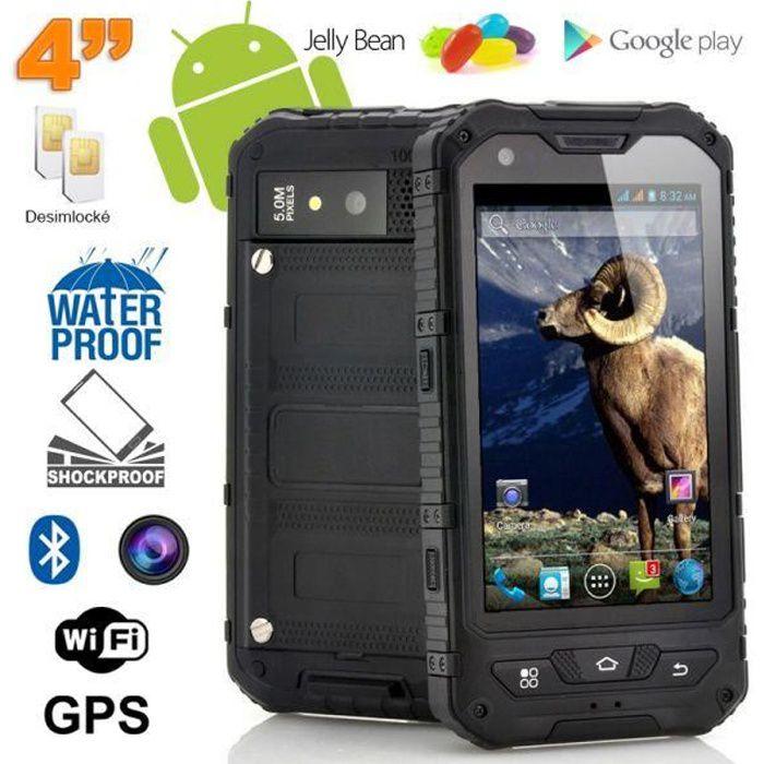 smartphone antichoc 4 pouces waterproof android achat smartphone pas cher avis et meilleur. Black Bedroom Furniture Sets. Home Design Ideas