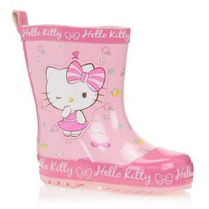 BOTTE HELLO KITTY Bottes de pluie Chaussures Enfant Fill