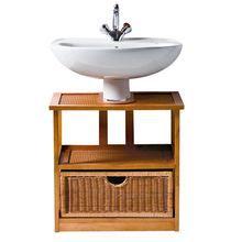 Meuble sous lavabo lagune ii miel achat vente meuble vasque plan meuble - Meuble lavabo buanderie ...
