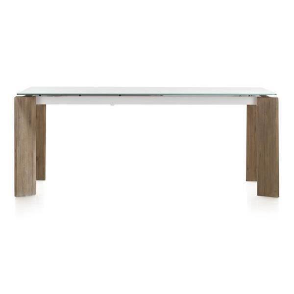 Table de salle manger 190 x 90 cm acacia massif kozak h for Table salle a manger 70 cm