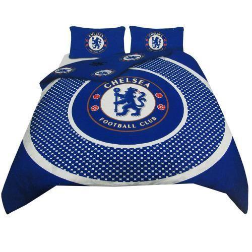 Chelsea fc double duvet set be achat vente housse de - Housse de couette double ...