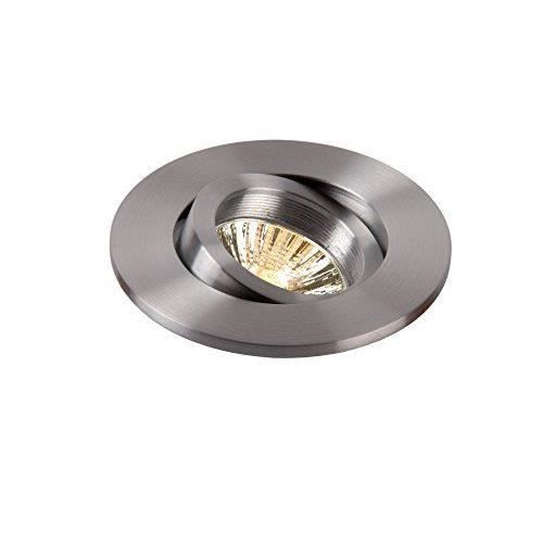 lucide 10910 01 12 eas spot encastrable ronde diam tre 9 cm gu10 50 w exclus aluminium achat. Black Bedroom Furniture Sets. Home Design Ideas