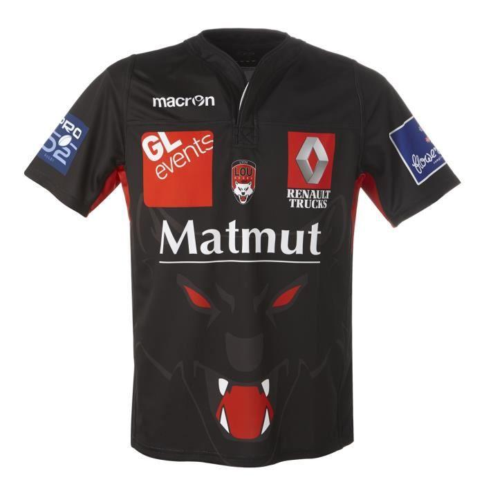 le sport sports collectifs maillot de match domicile lou rugby f  mp
