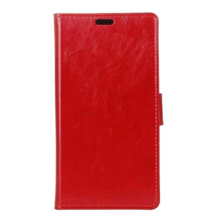 Xwzyq luxe pu cuir housse etui pour wiko tommy case coque for Housse wiko tommy 2