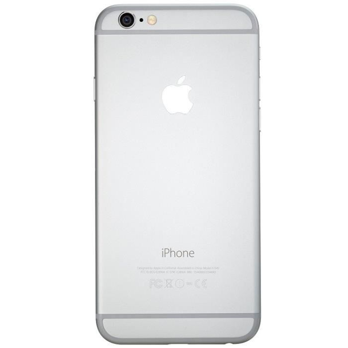 apple apple iphone 6 64gb reconditionn a neuf argent. Black Bedroom Furniture Sets. Home Design Ideas