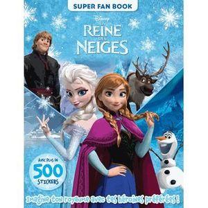 LIVRE JEUX ACTIVITÉS La reine des neiges, super fan book