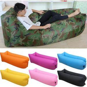 Air canap gonflable chaise longue de plage portable for Meuble qui se transforme