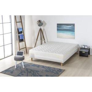 ensemble 140 x 190 cm achat vente ensemble mousse de matelas et sommier pas cher. Black Bedroom Furniture Sets. Home Design Ideas