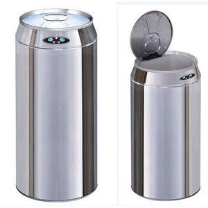 Poubelle automatique canette 42 l achat vente poubelle - Poubelle coulissante ouverture automatique ...