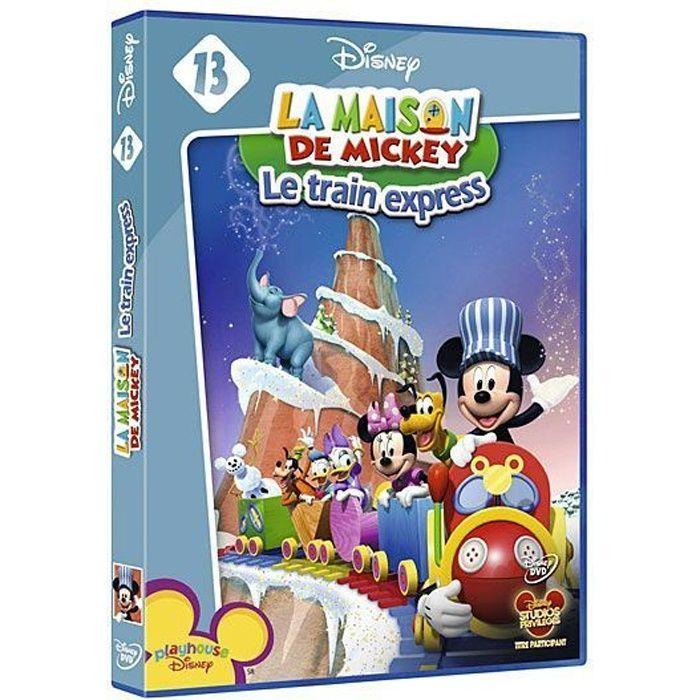 Dvd la maison de mickey le train express en dvd dessin anim pas cher les soldes sur - La maison des ursules ...