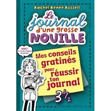 Le journal d 39 une grosse nouille achat vente livre rachel ren e russel - Le journal d eyragues ...