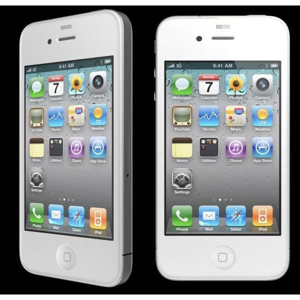 iphone 4 8gb blanc offre noel achat smartphone pas cher. Black Bedroom Furniture Sets. Home Design Ideas