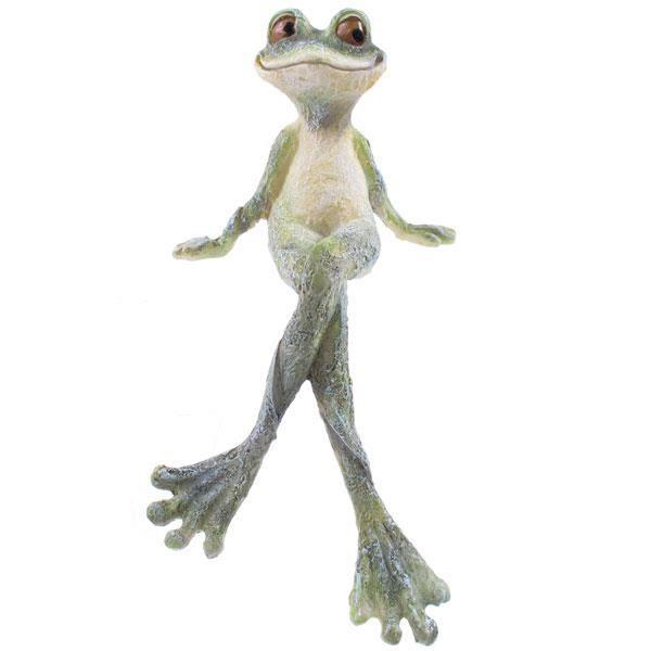 Grenouille de jardin assise 22 cm achat vente statue for Decoration jardin grenouille