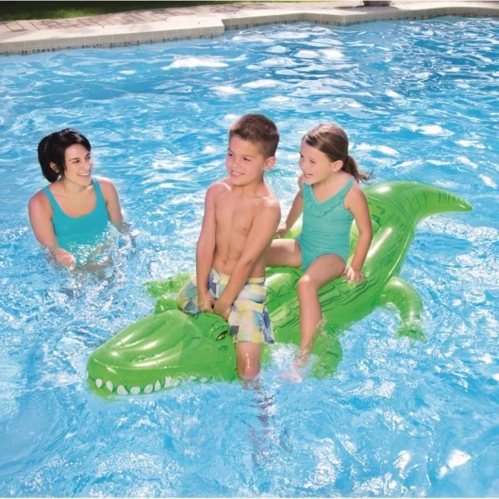 bestway jeu piscine crocodile gonflable chevaucher pour piscine achat vente balisage. Black Bedroom Furniture Sets. Home Design Ideas