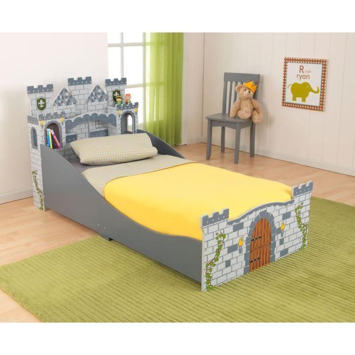 kidkraft lit ch teau m di val enfant achat vente structure de lit lit ch teau m di val. Black Bedroom Furniture Sets. Home Design Ideas