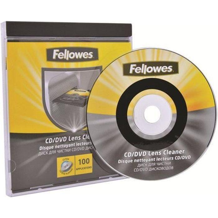 fellowes disque de nettoyage pour lecteur cd ou prix. Black Bedroom Furniture Sets. Home Design Ideas