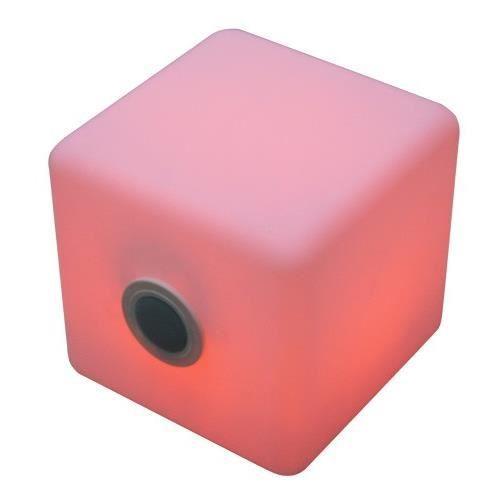 cube lumineux a led pour l exterieur avec haut achat. Black Bedroom Furniture Sets. Home Design Ideas