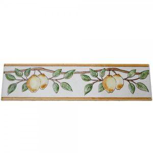 CARRELAGE - PAREMENT Frise listel Citron 20 x 5 cm
