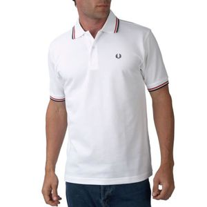 POLO POLO FRED PERRY SLIM FIT 2016 BLANC