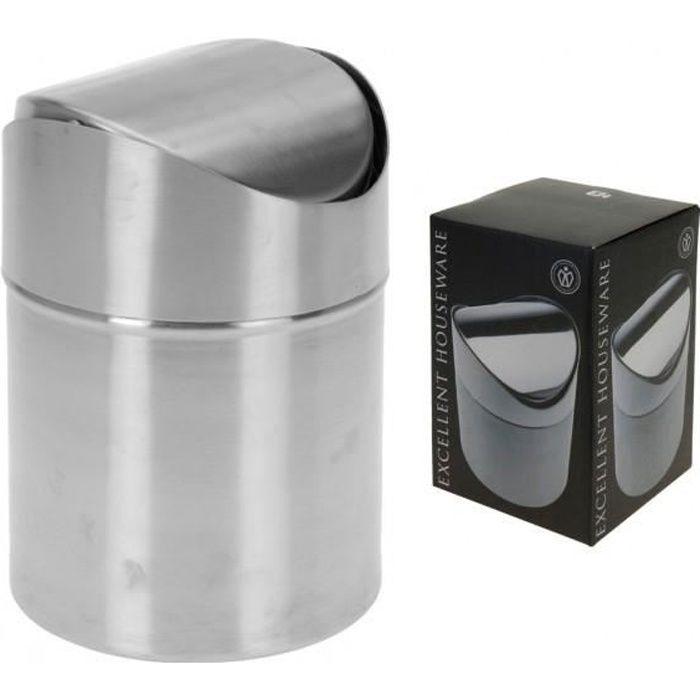 poubelle salle de bain inox achat vente salle de bain
