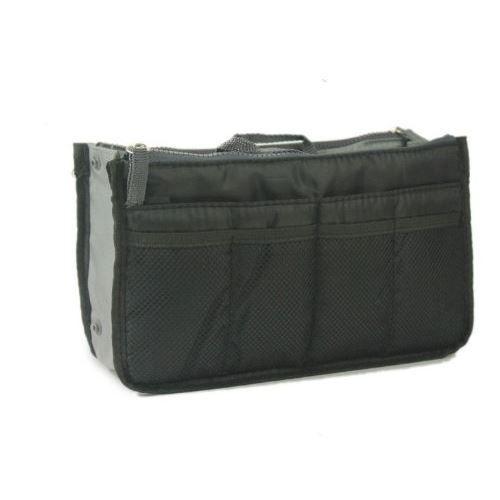 Nov go grand organiseur noir pour sac main achat - Pochette rangement pour sac a main ...